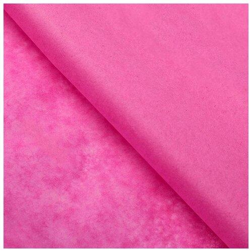 Бумага упаковочная тишью, лиловый, 50 см х 66 см, набор 10 шт. 7059630