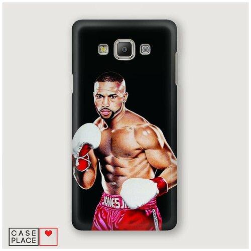 Чехол Пластиковый Samsung Galaxy A5 Рой Джонс 1
