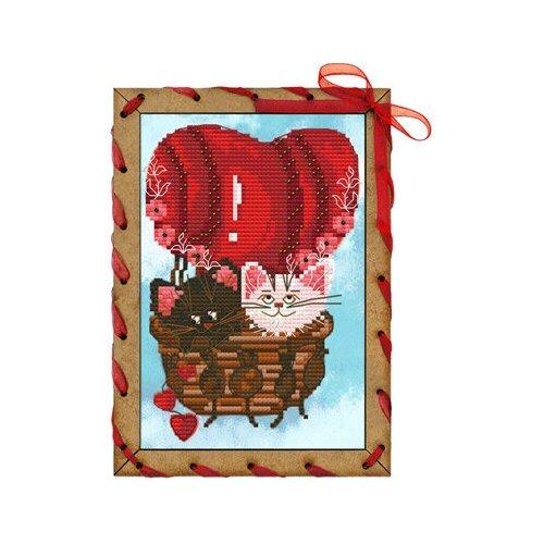 Купить Набор для вышивания Нова Слобода ОР №04 7563 Шар любви 10 х 15 см 1 шт., NOVA SLOBODA, Наборы для вышивания