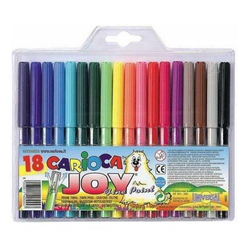 Universal Набор фломастеров Universal CARIOCA JOY 2 мм 18 шт разноцветный 40555/18