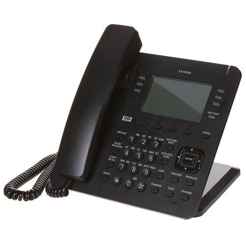 Радиотелефон Panasonic KX-NT630RU Black