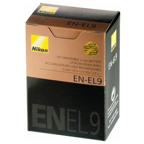 Аккумулятор Nikon EN-EL9 для Nikon d60, d40, d5000, d3000