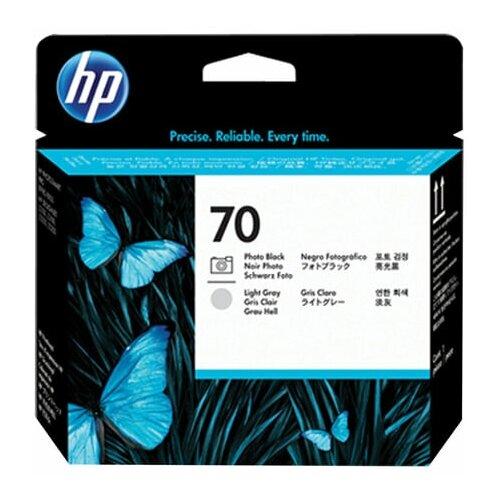 Головка печатающая для плоттера HP (C9407A) DesignJet Z2100/Z3100 №70 черная и светло-серая оригинальная 1 шт.