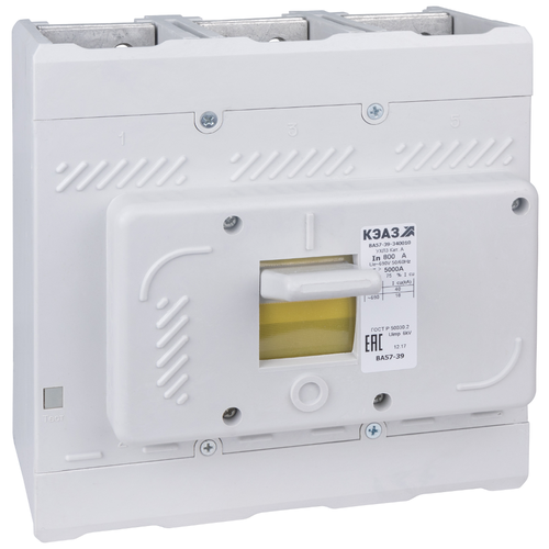 Автоматический выключатель КЭАЗ ВА57-39-340010 2500 УХЛ3 3P 18кА 250 А