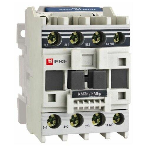 Силовой контактор постоянного тока (DC) EKF КМЭп малогабаритный 12А 220В DC 1NC PROxima 12А