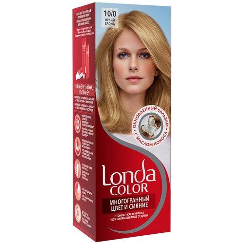 Фото - Londa стойкая крем-краска для волос Многогранный цвет и сияние, 10/0 яркий блонд londa стойкая крем краска для волос многогранный цвет и сияние 6 45 45 гранатово красный