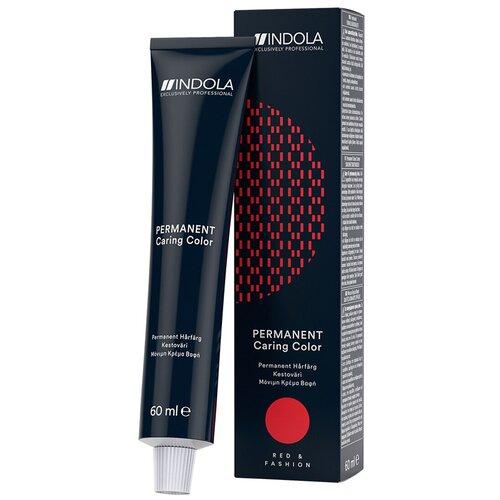 Купить Indola Permanent Caring Color Стойкая крем-краска для волос Red & Fashion, 6.77x темный русый фиолетовый экстра, 60 мл
