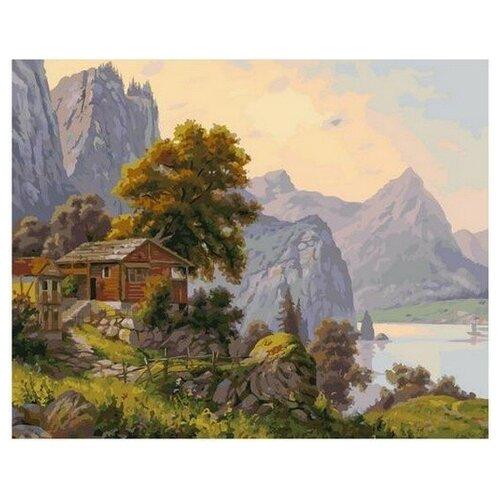 Купить Картина по номерам Уютный уголок (Прищепа Игорь), 40x50 см. PaintBoy, Картины по номерам и контурам