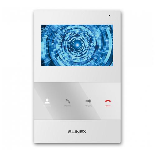 Фото - Домофон (переговорное устройство) Slinex SQ-04 белый (домофон) домофон переговорное устройство tantos lilu sd белый домофон