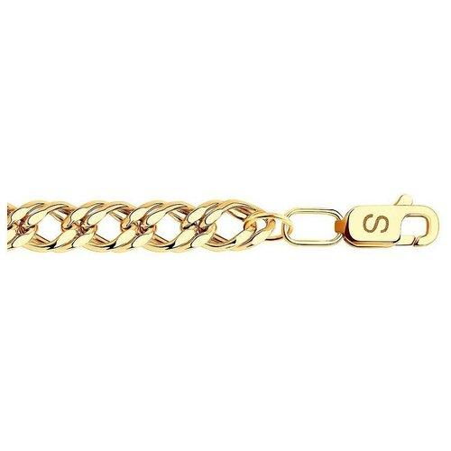 SOKOLOV Браслет из красного золота 552011006, 20 см