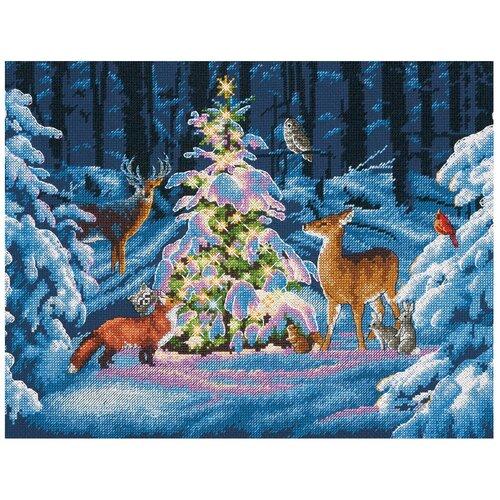 Фото - Dimensions Набор для вышивания Лесное сияние 35.5 x 27.9 см (70-08922) набор для вышивания dimensions 03896 уютное укрытие46 x 23 см