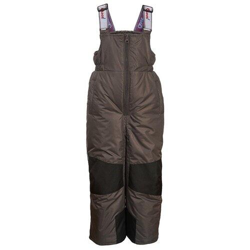 Купить Полукомбинезон Oldos Мишель OAW193T1PT67 размер 104, арно темно-серый, Полукомбинезоны и брюки