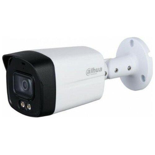 Камера видеонаблюдения Dahua DH-HAC-HFW1239TLMP-LED-0360B белый/черный камера видеонаблюдения dahua dh hac hfw1409tp a led 0360b 1440p 3 6 мм белый