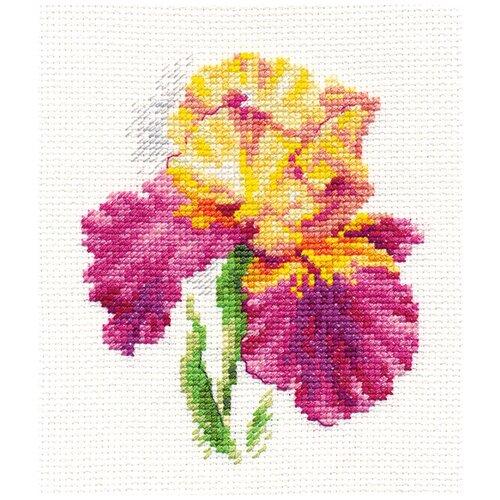 Алиса набор для вышивания 0-136 Ирис 10 х 12 см, Наборы для вышивания  - купить со скидкой