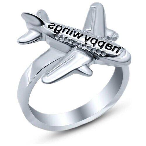 Silver WINGS Кольцо с эмалью из серебра 21phw01-113, размер 18 браслеты silver wings 04fyb5172a 113