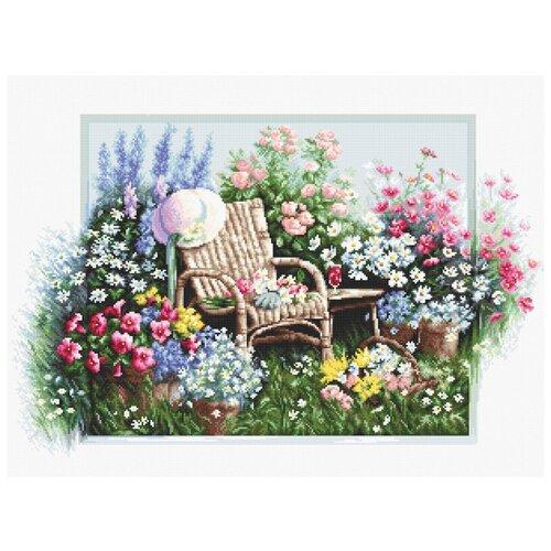Купить Набор для вышивания Цветущий сад 43 х 28 см B2344, Luca-S, Наборы для вышивания