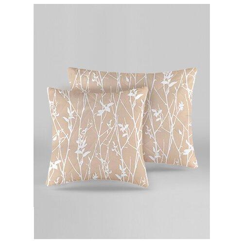 Подушка средняя в стеганом чехле каир / 68 х 68 / Хлопок
