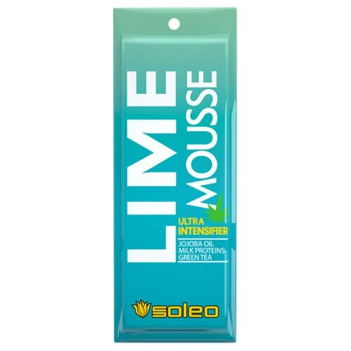 Фото - Крем для загара в солярии Soleo Lime Mousse 15 мл soleo ультраусилитель lime mousse загара с тирозином 150 мл