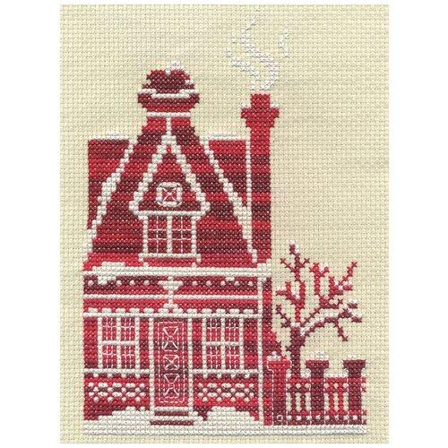 Купить PANNA Набор для вышивания Медовый коттедж 11.5 х 17 см (D-0851), Наборы для вышивания
