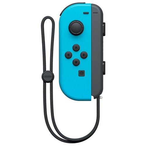 Геймпад Nintendo Joy-Con левый неоновый синий геймпад nintendo switch joy con controllers duo красный синий