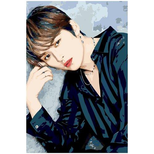 Картина по номерам Stray Kids Lee Know Ли Мин Хо, 100 х 150 см
