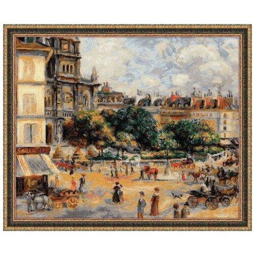 Фото - Риолис Набор для вышивания крестом Площадь троицы. Париж 60 x 50 (1396) риолис набор для вышивания крестом русская охота 60 x 40 1639