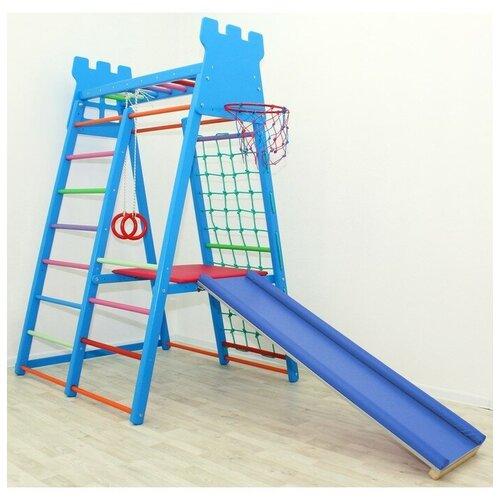 Детский спортивный комплекс Castle, цвет синий 3954469