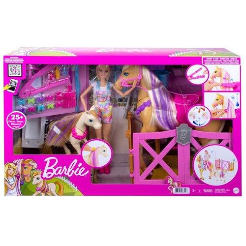 Набор игровой Barbie Забота и уход, GXV77