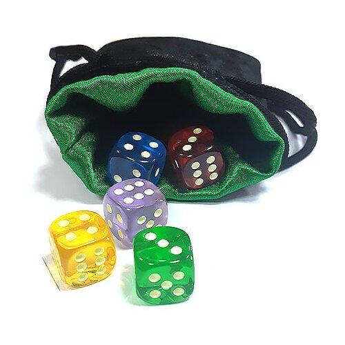 Купить Мешочек для хранения кубиков и карт Мини , Pandora's Box Studio, Настольные игры