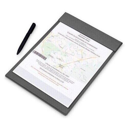 Купить Папка планшет для документов/ рисования / папка уголок А4 с зажимом магнитом Flexpocket серый, Файлы и папки