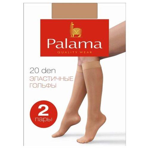 Гольфы Palama 20 DEN (2 пары) телесный 23-25