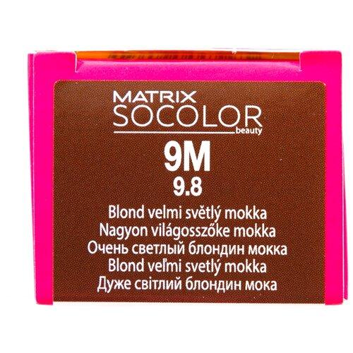 Купить Matrix Socolor Beauty стойкая крем-краска для волос, 9M очень светлый блондин мокка, 90 мл