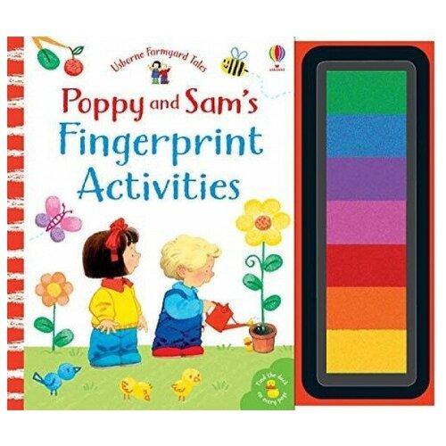 Купить Poppy and Sam's: Fingerprint Activities, Usborne, Детская художественная литература