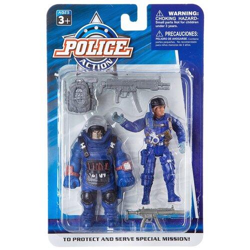 Купить Набор игровой с пластиковыми фигурками Police , 2 вида (К83027), Play Smart, Солдатики
