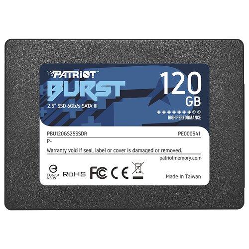 Твердотельный накопитель Patriot Memory Burst 120 GB PBU120GS25SSDR