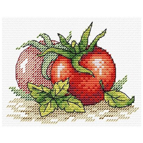 Купить Жар-птица Набор для вышивания Спелый томат 11 х 8.5 см (М-435), Наборы для вышивания