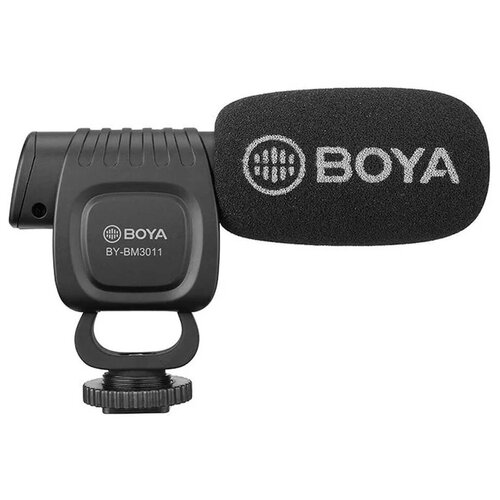 Фото - Накамерный микрофон BOYA BY-BM3011 микрофон пушка boya by bm2021
