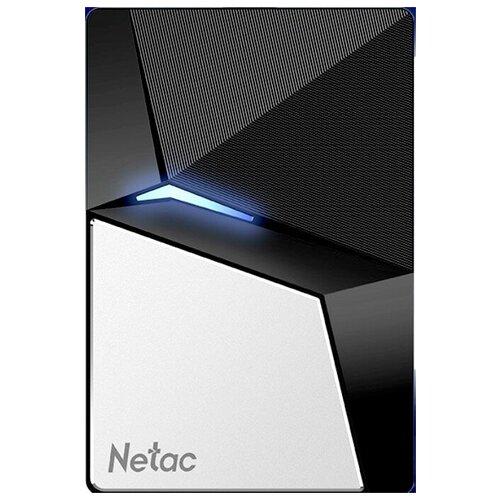 Фото - Netac внешний Z7S (NT01Z7S-240G-32BK) 240GB внешний ssd netac z7s 480gb nt01z7s 480g 32bk