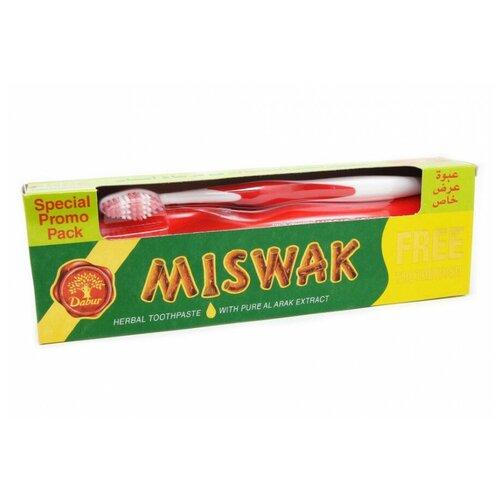 Купить Зубная паста дабур Miswak 190 гр. (зубная щётка в подарок), Dabur