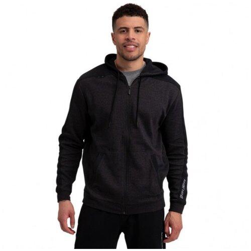 Толстовка BAUER Prem Fleece Full Zip SR взрослая(XL / черный/XL)