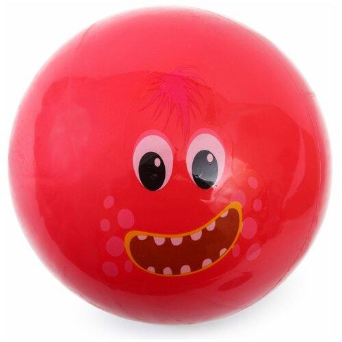 Мяч Kreiss 15 см Монстр Красный