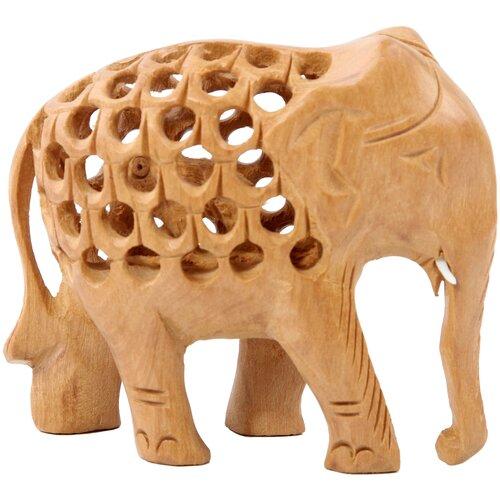 Ганг Фигурка Слон (6х10х15 см) ганг рюкзак ulva 13х30х36 см