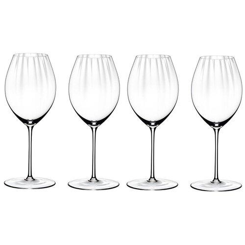 Набор из 4-х бокалов для красного вина Syrah/Shiraz 631 мл, хрусталь, Performance, Riedel, 4884/41