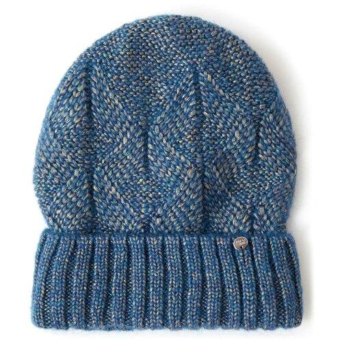 шапка женская finn flare цвет ярко синий a20 11148 111 размер 56 Шапка женская Finn Flare, цвет: темно-синий A20-32139_140, размер: 56