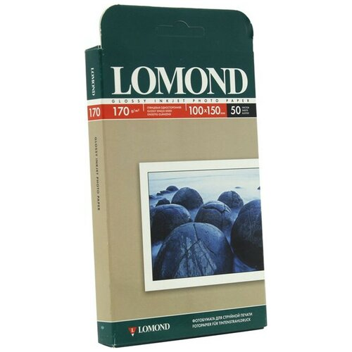 Фото - Фотобумага Lomond 170g/m2 глянцевая односторонняя 50 листов 102150 фотобумага lomond a3 230g m2 глянцевая односторонняя 50 лист