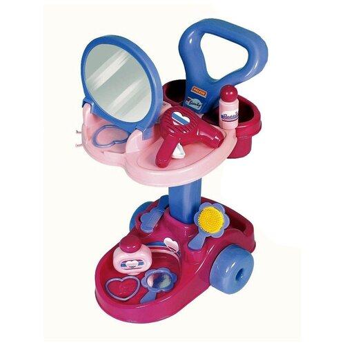 Игровой набор Полесье Салон красоты Диана, в коробке (36629), розовый/фиолетовый