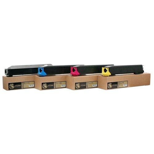 Тонер-картридж булат s-Line TK-5195Y для Kyocera TASKalfa 306ci (Жёлтый, 7000 стр.)