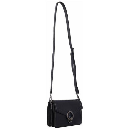 Элегантная женская сумка 2019223A Y01 nero Giorgio Ferretti на плечо/Италия, 100% натуральная кожа
