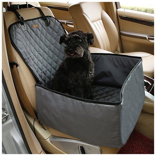 Автомобильный чехол автобокс для собак с бортами