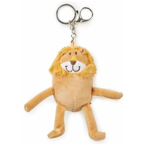 330697, Брелок-игрушка Happy Baby мягкий FRIENDLY ANIMALS, Lion